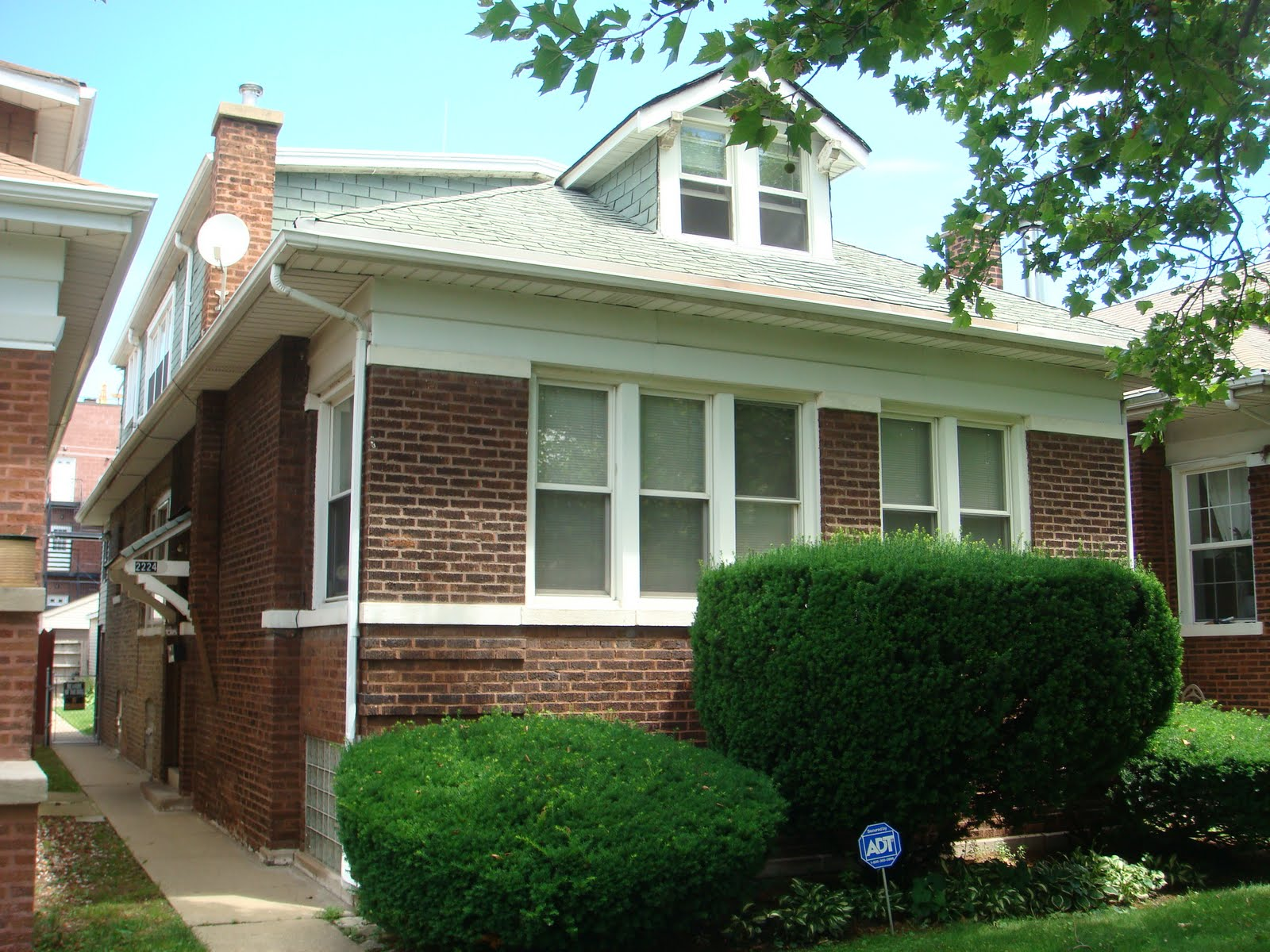 Curb Appeal Chicago Bungalow Before And After