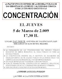 5 Marzo 2009 -Concentración