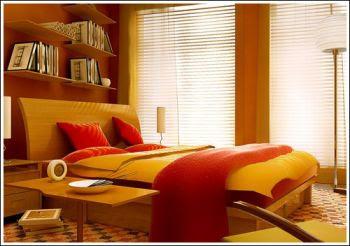 Interior bedroom model in 3ds max.
