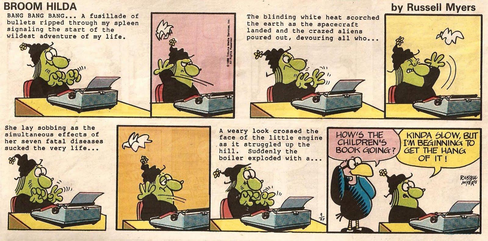 sunday comics debt: tell me a story