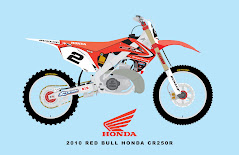 2010 RED BULL HONDA CR250R