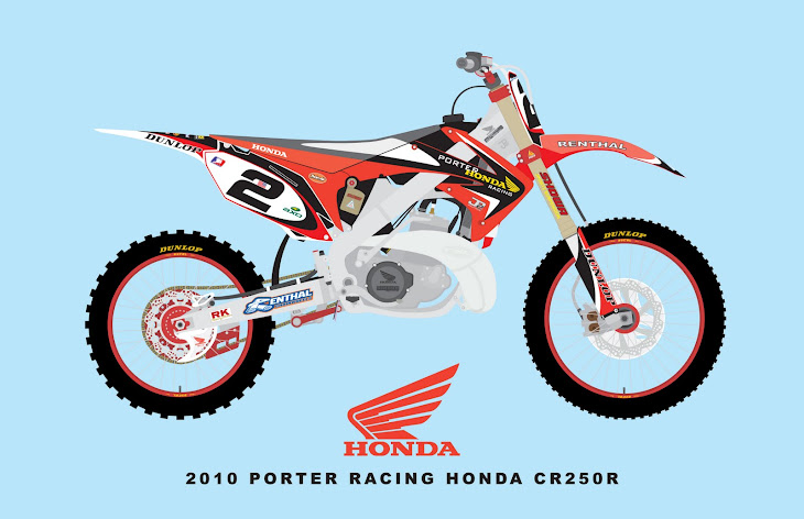 2010 PORTER RACING HONDA CR250R