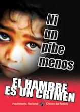 El hambre es un crimen <br>