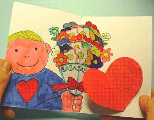 como hacer una amorosa tarjeta popup de feliz dia de las madres
