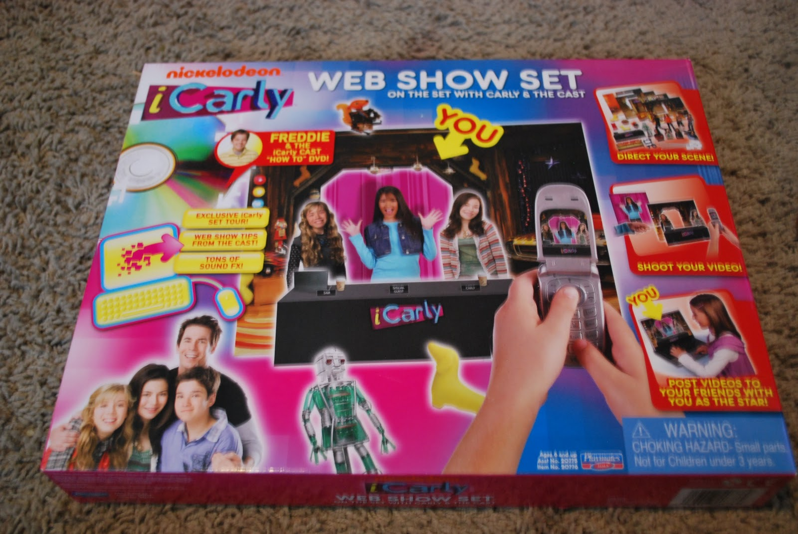 the last thing we got was the web show set