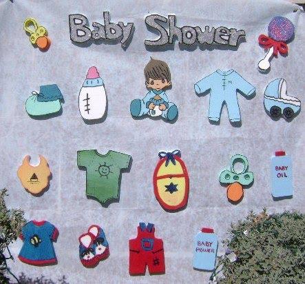 Figuras de foami para baby shower - Imagui