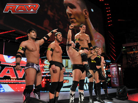 WWE Raw Results 11/8/10