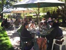 Hidden Valley: outdoor dinning