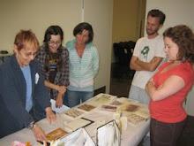 Encaustic Altered Books workshop @ Kala Art Insitute, Berkeley, CA