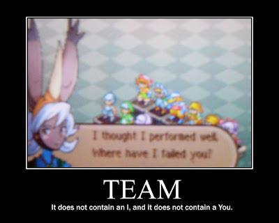 final fantasy tactics motivational poster, resigned gamer