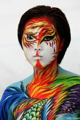 Amazing Face Paint Art