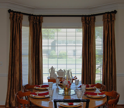 Dining room window treatment bay window 2017 2018 best cars reviews - Ideas of window treatments for bay windows in dining room ...
