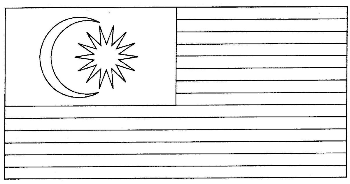 Upacara Bendera Malaysia Warna