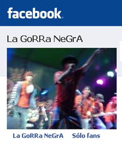 Fans Gorra en FaceBook