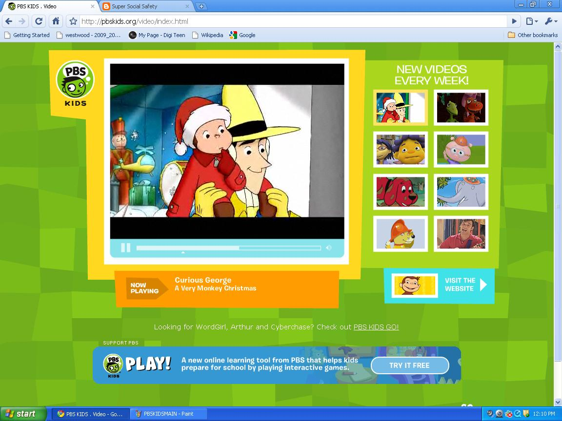 Super social safety pbs kids a site for fun and learning Go to the website
