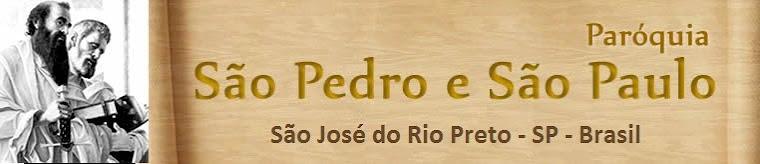 Paróquia São Pedro e São Paulo - Rio Preto