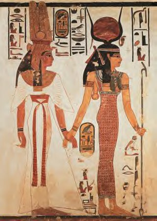 QUEEN NEFERTARI & QUEEN ISIS