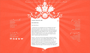 Lawrie Malen Flash Blogger Template