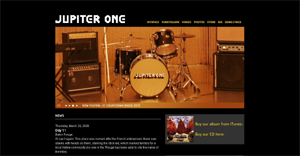 Jupiter One Blog Design