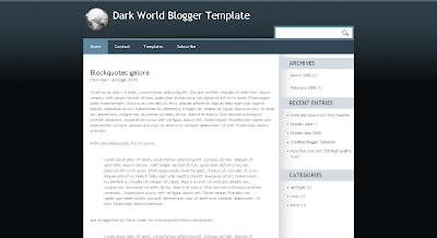Blogger Xml Templates