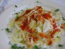Fennel Tagiolini with Blood Orange