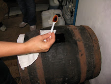Barrel Tasting from the original 1891 Barrel