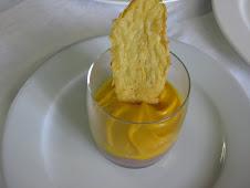 Orzotto all'Amarone e Spuma di Zucca