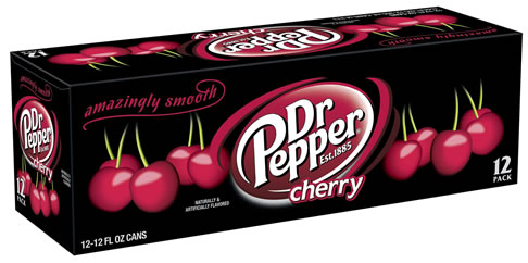 Show and Tell: Drink and Sweet DrPepperCherry12pack