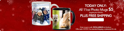 Photoworks: $5 Photo Mugs + FREE Shipping!