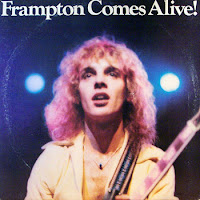 Peter Frampton Alive album cover photographed by Richard E. Aaron, 1974