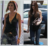 Photos of Victoria Beckham and Kate Beckinsale courtesy of Daily Mail