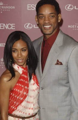 Will Smith and Jada Pinkett Smith pose at 1st Annual Essence Black Women Luncheon - Photo courtesy of Starpulse.com