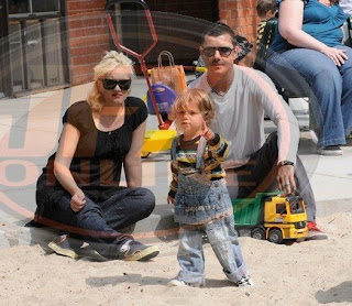 Gwen Stefanie and Gavin Rossdale welcome Zuma Nesta Rock to the family Photo courtesy of Gavin Rossdale blog