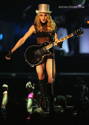 Madonna kicks off Sticky and Sweet Tour - Photo courtesy of Socialitelife