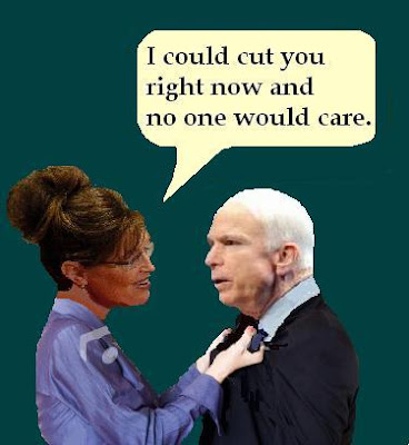 John McCain and Sarah Palin aids speak out about strained ticket