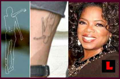 Replication of Brad Pitt ice man tattoo courtesy of LaLateNews