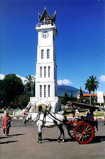 Jam Gadang at Bukittinggi City