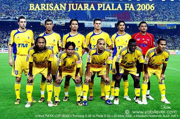 Pahang Juara Piala FA 2006