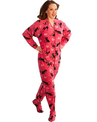 Pajama City is a site where you can buy adult footed pajamas.