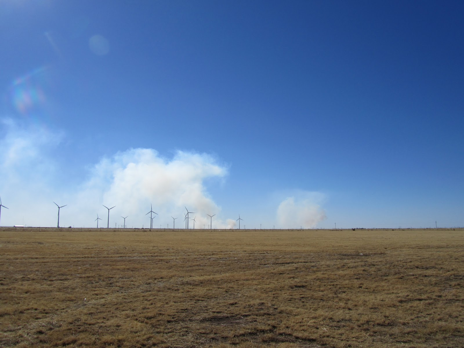 hard hat habitat  gras fire southwest of dumas texas