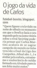 Futebol-bonito nos jornais