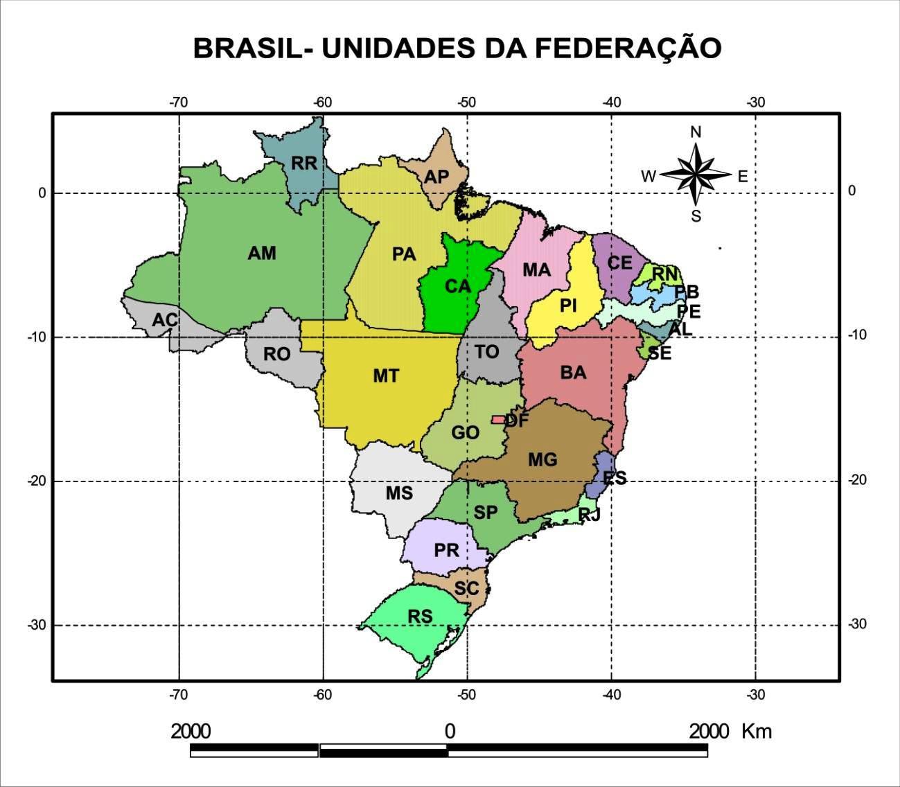 Mapa Do Brasil Ibge 2011