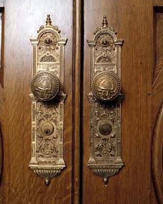 The Trumpet Stone Temple Doorknobs