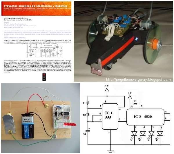 Proyectos Pr U00e1cticos De Electr U00f3nica Y Rob U00f3tica