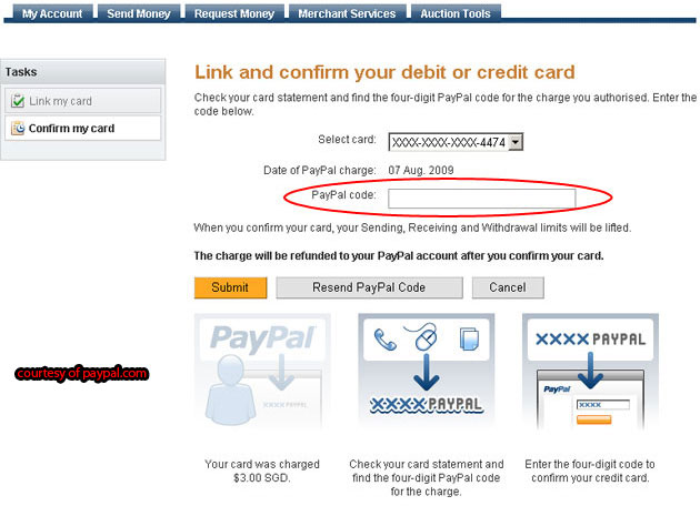 verify debit card