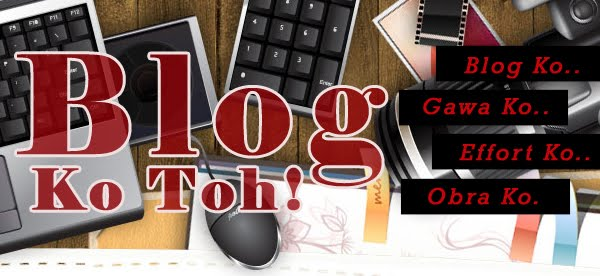 Blog Ko Toh!