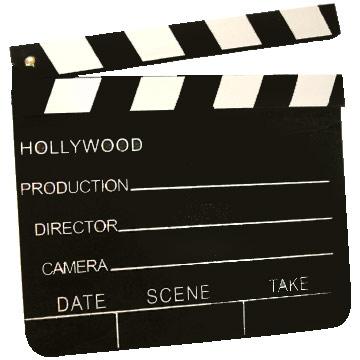 luz del cine: