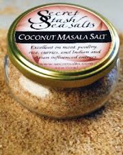 Coconut Garam Masala Salt