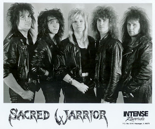 Sacred Warrior - The Heavens Are Calling 1987