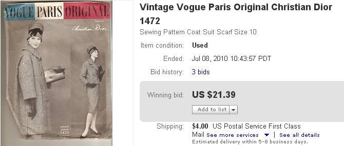eBay Selling Coach: Vintage Sewing Patterns - eBay Success Story